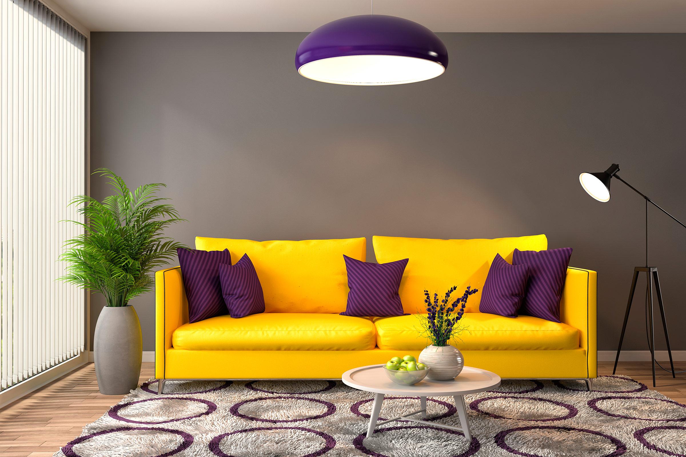 کاربرد رنگ ها در طراحی داخلی